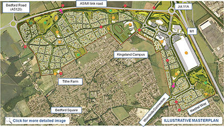 Houghton Regis urban extension