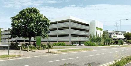 Waitrose Bracknell Campus Multi-storey Car Park