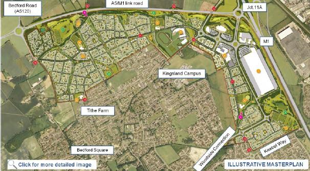 Houghton Regis urban extension