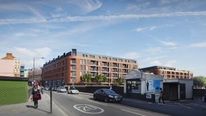Car-free Social Housing scheme approved on conservation fringe at West Hampstead commuter hub